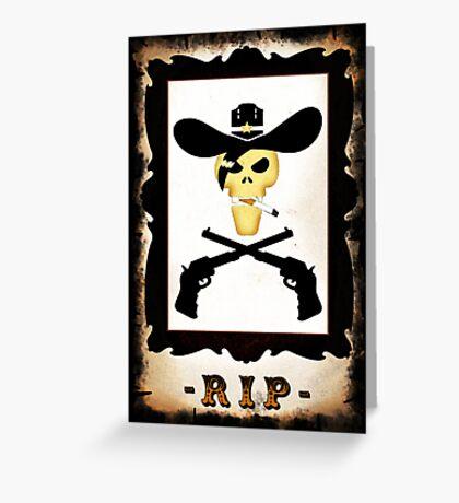 Dead Luke VRS2 Greeting Card