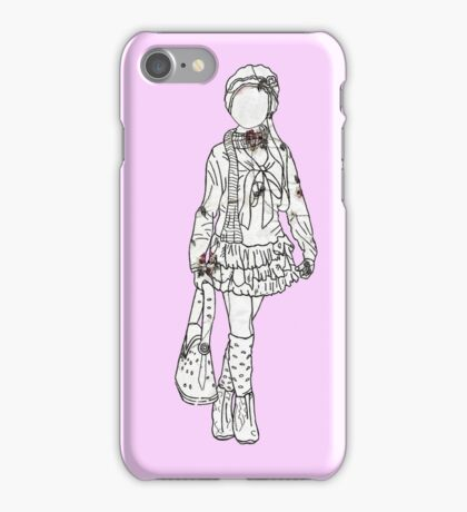 Clothes As Timeless As Vintage Vases iPhone Case/Skin