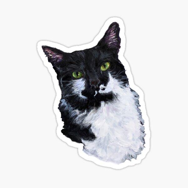 The Eyes Have It, Tuxedo Cat Sticker