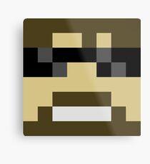 ssundee Minecraft skin Metal Print