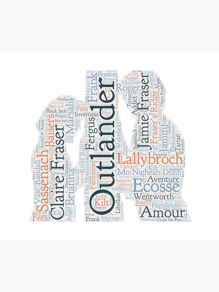 «Outlander, Jamie et Claire» par OutlanderAddict