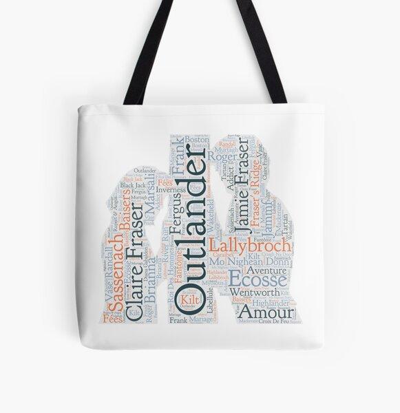 Outlander, Jamie et Claire Tote bag doublé