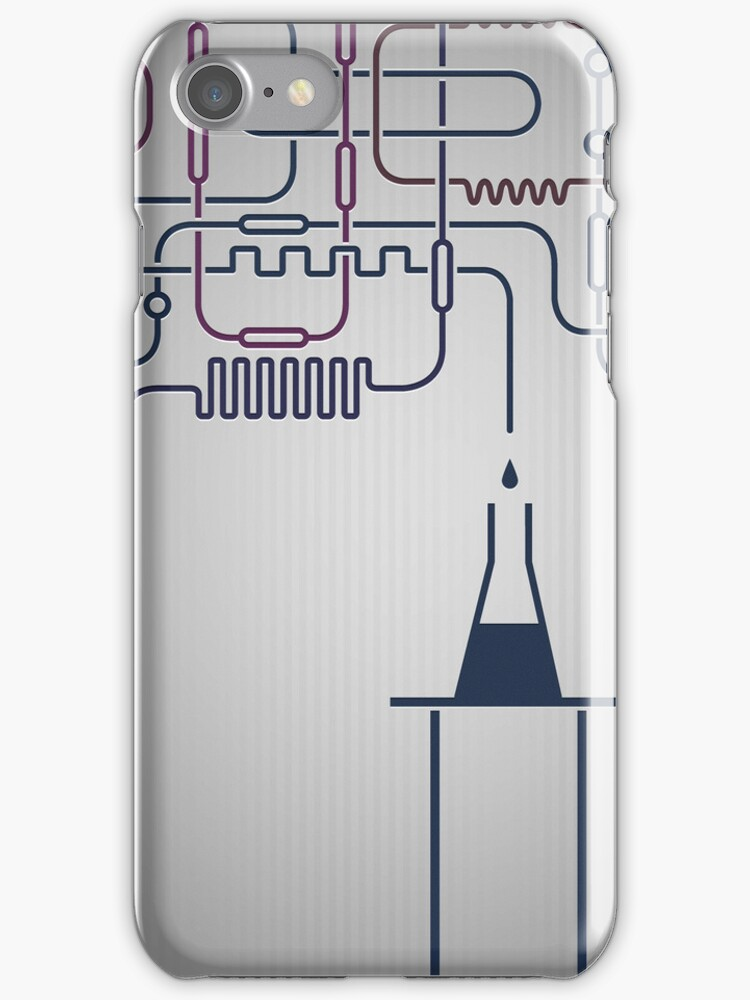 Science Chemistry Research iPhone Cases / iPad Case / T-Shirt / Samsung Galaxy Case / Tote Bag / Pillow  by CroDesign