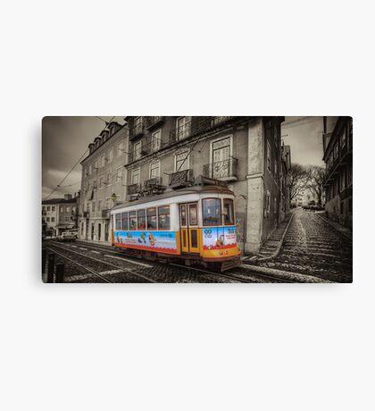 Carris Tram 574 Lisbon Canvas Print