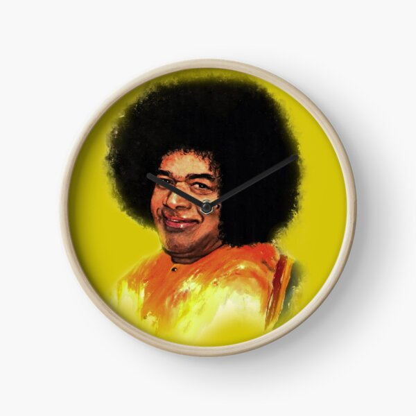 Sathya Sai Painting Clock