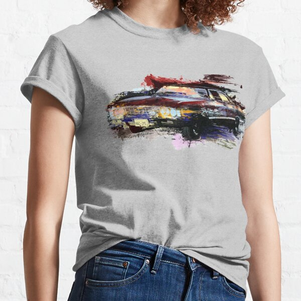 Baby Supernatural 67 Impala Watercolor Classic T-Shirt