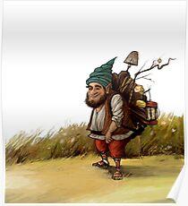 Dwarf Sketch 2 Poster