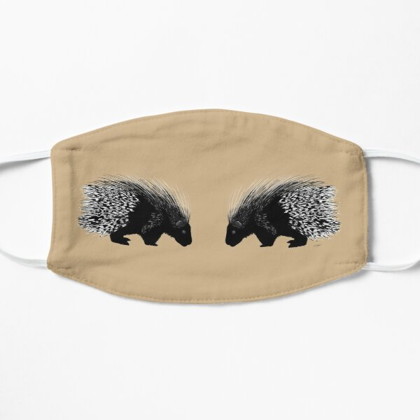 Porcupine Twins - Tan Mask