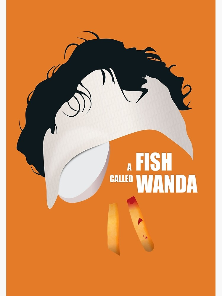 A Fish Called Wanda - Alternative Movie Poster by MoviePosterBoy