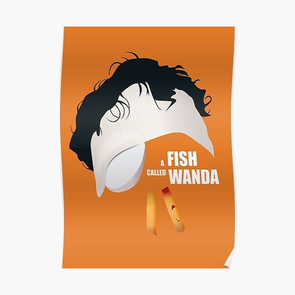 A Fish Called Wanda - Alternative Movie Poster Poster
