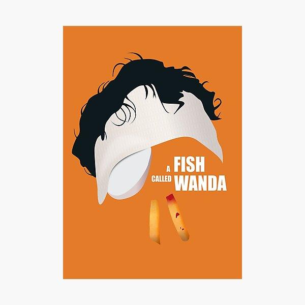 A Fish Called Wanda - Alternative Movie Poster Photographic Print