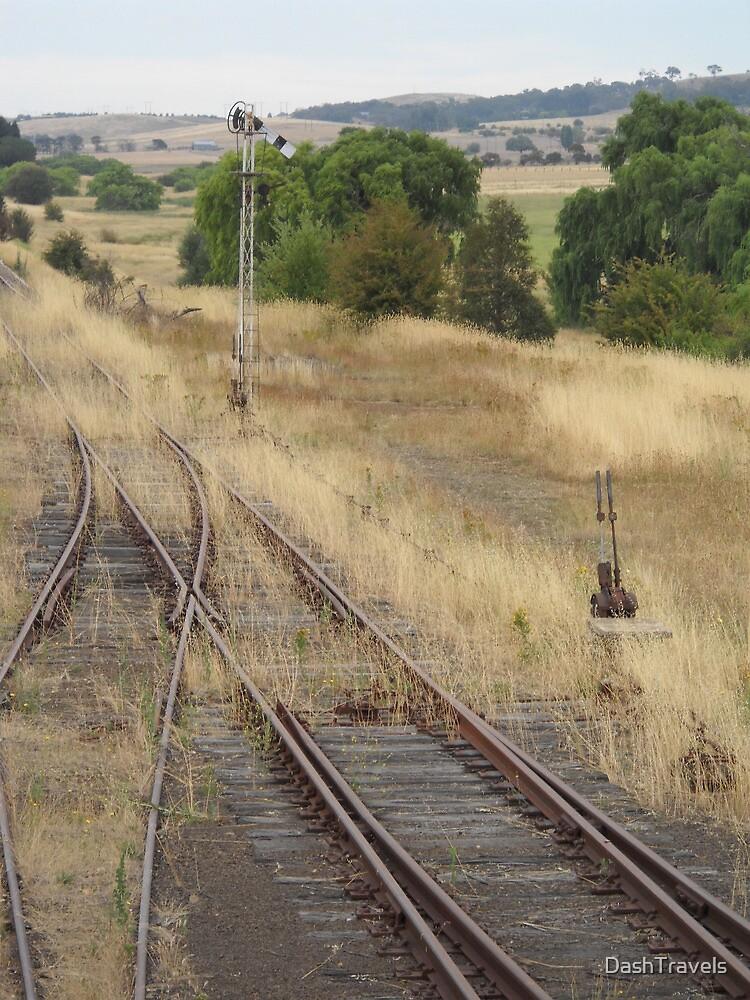 Siding at Michelago Station by DashTravels