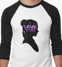 Star Wars Leia 'I Love You' Black Silhouette Couple Tee T-Shirt