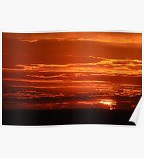 St Kilda Sunset Poster