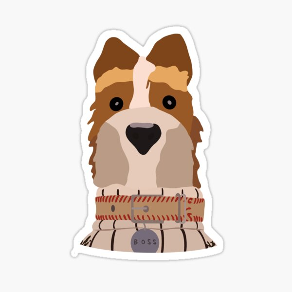 Isle Of Dogs Stickers Redbubble