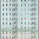 Pro Cycling Teams by Andy Scullion