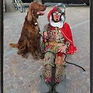 Jester & Funny Dog by jollykangaroo