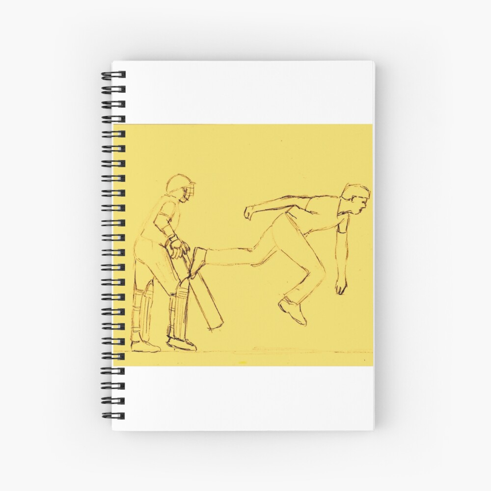 Bowled in Sepia Spiral Notebook