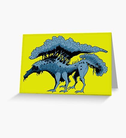 TREEGON B/Y Greeting Card