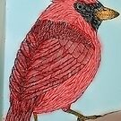 Cardinal Illustration by goatlegg