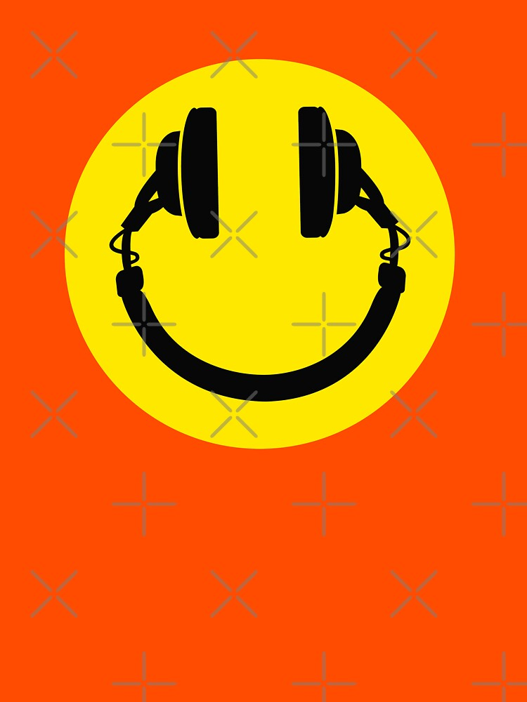 Smiley headphones | Unisex T-Shirt