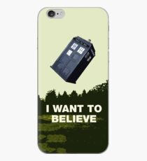 i want to believe iPhone-Hülle & Cover