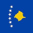 Kosovo Flag by pjwuebker