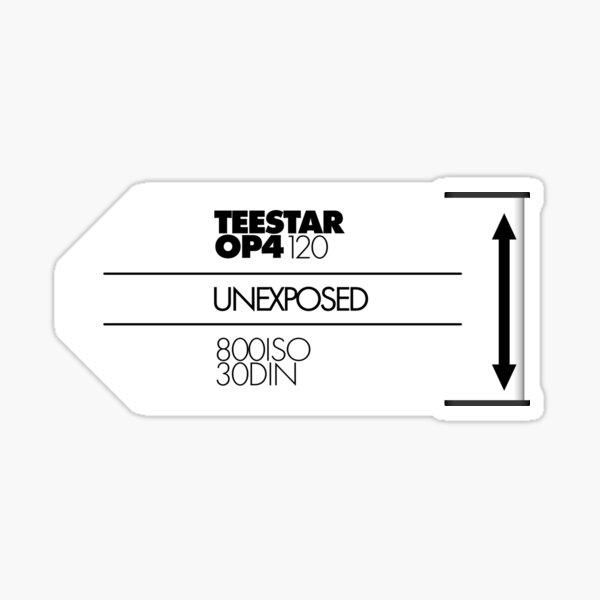 TeeSTAR 120 Unexposed Sticker
