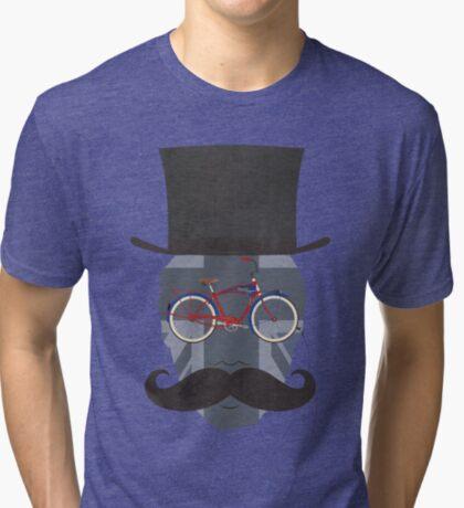 Bicycle Head Tri-blend T-Shirt