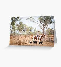 Mustering Time Greeting Card