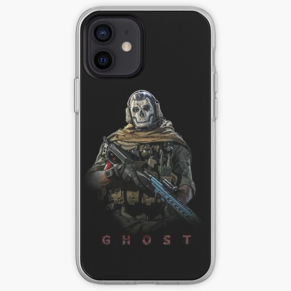 Warzone Ghost Funda blanda para iPhone