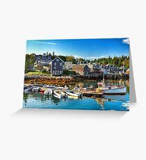 Stonington, Maine Greeting Card