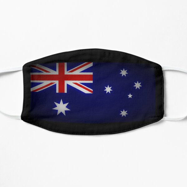 Australian flag Flat Mask