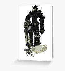 Colossi Greeting Card