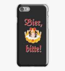 Bier, bitte! iPhone iPod iPhone Case/Skin