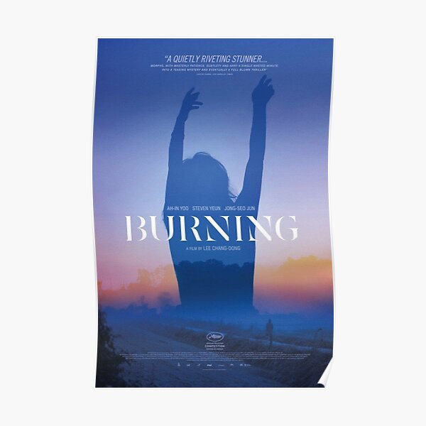 Burning Poster 2018 Lee Chang-dong Poster