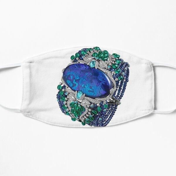 HIGH JEWELRY BRACELET ... Platinum, opal, sapphires, emeralds, Paraiba tourmalines Mask