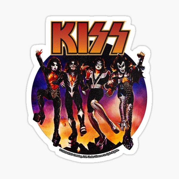 KISS (Vintage Design) Sticker