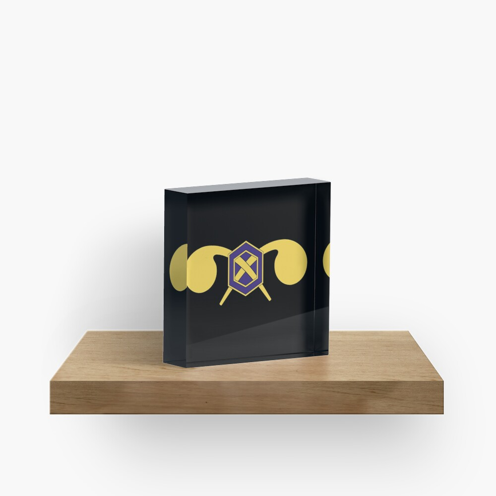 Chemical Corps - US Army Acrylic Block