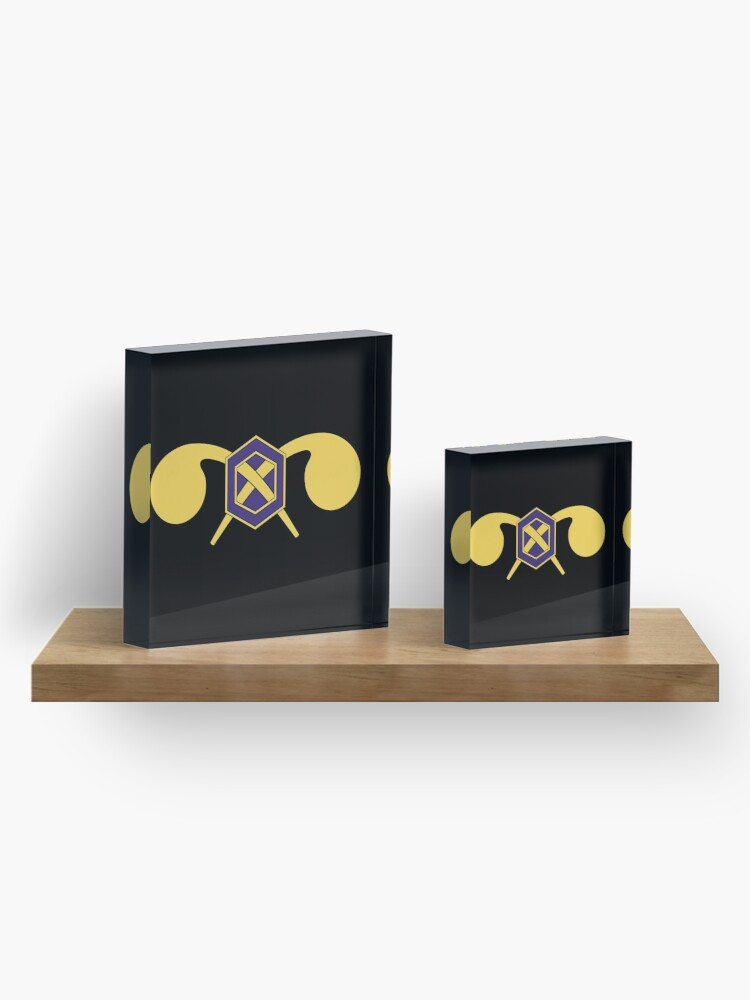 Alternate view of Chemical Corps - US Army Acrylic Block