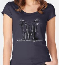 Supernatural Graffiti  Women's Fitted Scoop T-Shirt