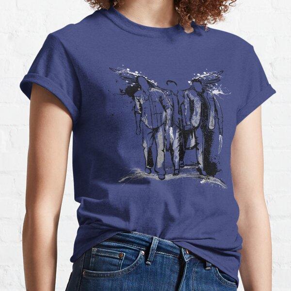 Graffiti sobrenatural Camiseta clásica