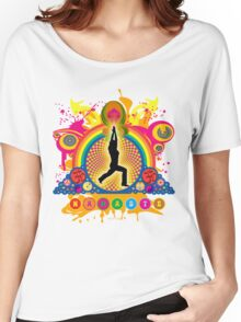 Namaste T-Shirt Women's Relaxed Fit T-Shirt