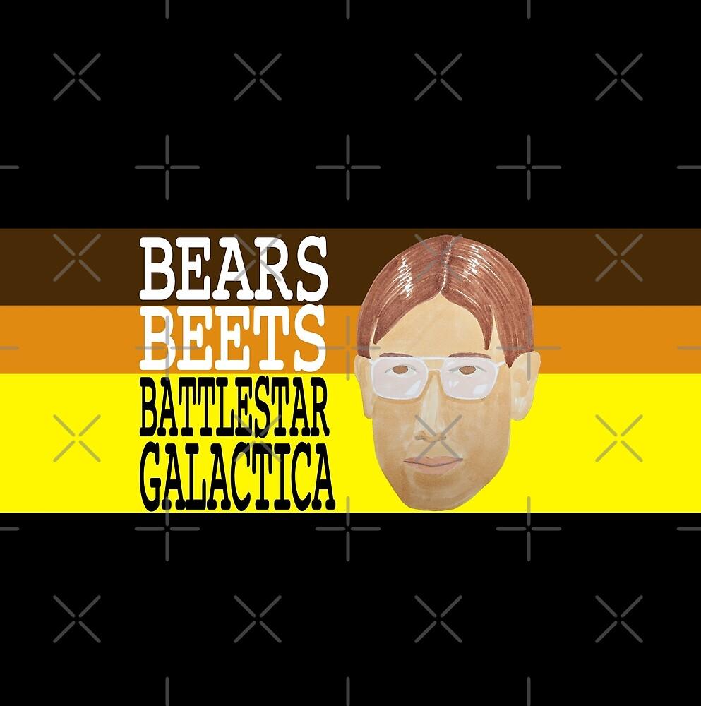 Bears Beets Battlestar Galactica by pickledbeets
