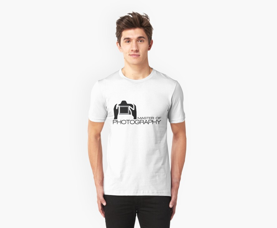 Master Of Photography T-Shirt by CroDesign