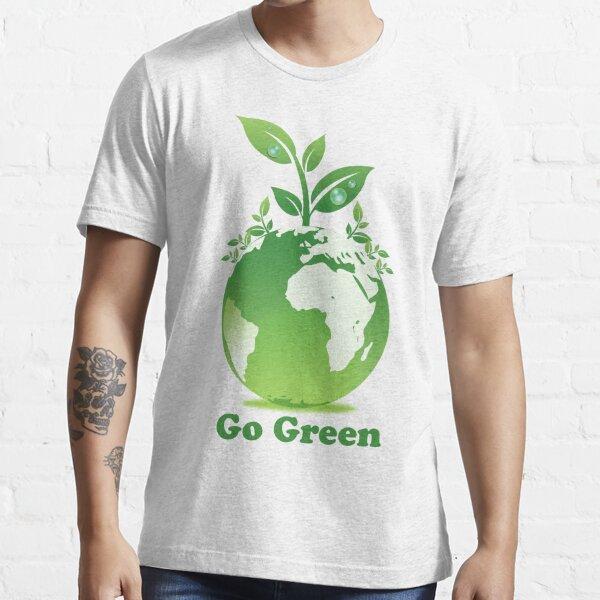 Go Green T-Shirt Essential T-Shirt