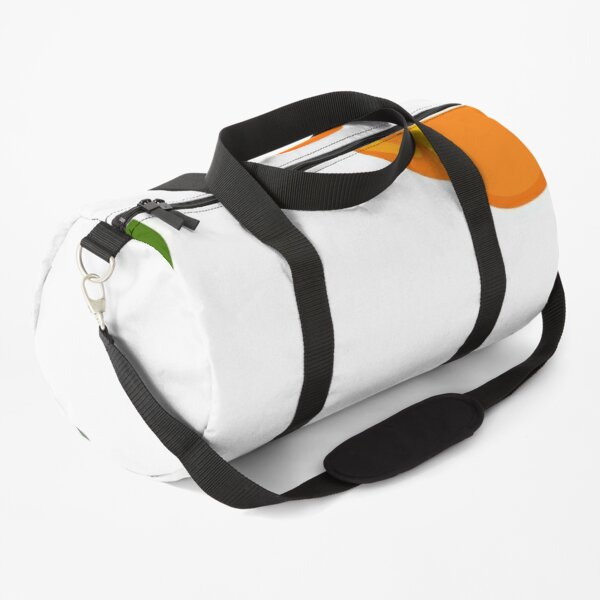 Tropical orange Duffle Bag
