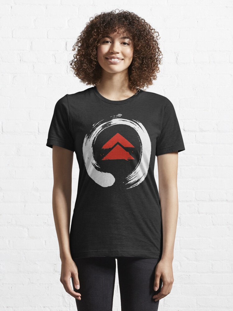Alternate view of Ghost Of Tsushima Enso Circle Essential T-Shirt