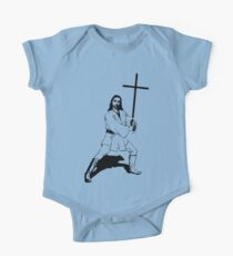 Jesus with Saber T-Shirt Kids Clothes
