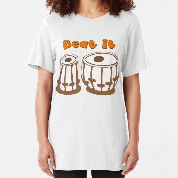 Tabla Drum Beat It T-Shirt Slim Fit T-Shirt